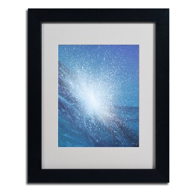 "Sea Picture VI 2008"" by Alan Byrne Framed Painting Print Size: 14"" H x 11"" W x 0.5"" D, Frame Color: Black BL01226-B1114MF"