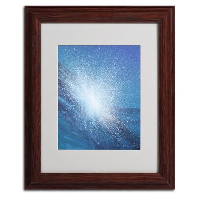 """Sea Picture VI 2008"""" by Alan Byrne Framed Painting Print Size: 14"""" H x 11"""" W x 0.5"""" D, Frame Color: Brown BL01226-W1114MF"""