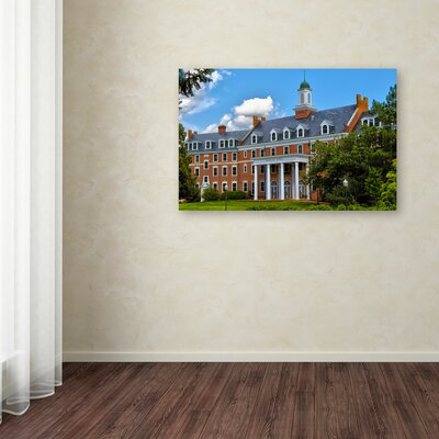 """Graduate School"" by CATeyes Photographic Print on Wrapped Canvas Size: 16"" H x 24"" W x 2"" D"