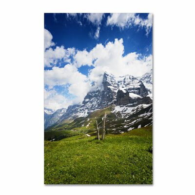 'Monch Switzerland' by Philippe Sainte-Laudy Photographic Print on Wrapped Canvas Size: 19