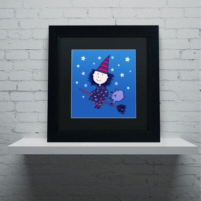 'Lovely Little Witch' by Carla Martell Framed Art ALI0526-B1111BMF