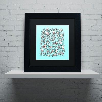 'Lovely Little Animals' by Carla Martell Framed Art ALI0525-B1111BMF