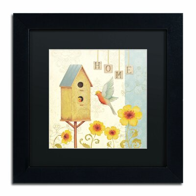 'Welcome Home I' by Daphne Brissonnet Framed Painting Print WAP0032-B1111BMF