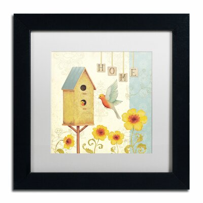 'Welcome Home I' by Daphne Brissonnet Framed Painting Print WAP0032-B1111MF