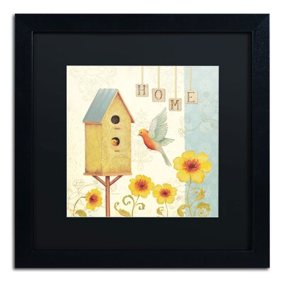 'Welcome Home I' by Daphne Brissonnet Framed Painting Print WAP0032-B1616BMF