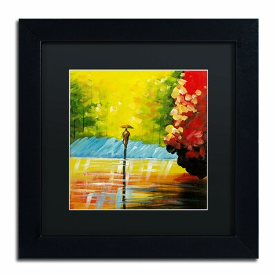 'Rainy Day' by Ricardo Tapia Framed Painting Print MA0551-B1111BMF