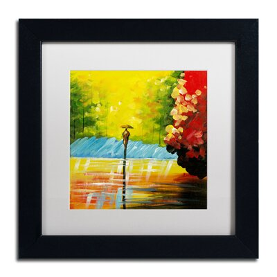 'Rainy Day' by Ricardo Tapia Framed Painting Print MA0551-B1111MF