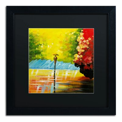 'Rainy Day' by Ricardo Tapia Framed Painting Print MA0551-B1616BMF
