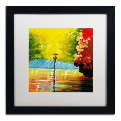 'Rainy Day' by Ricardo Tapia Framed Painting Print MA0551-B1616MF