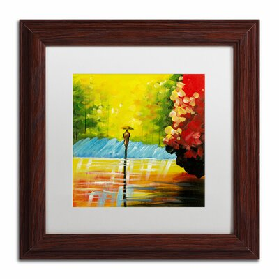 'Rainy Day' by Ricardo Tapia Framed Painting Print MA0551-W1111MF