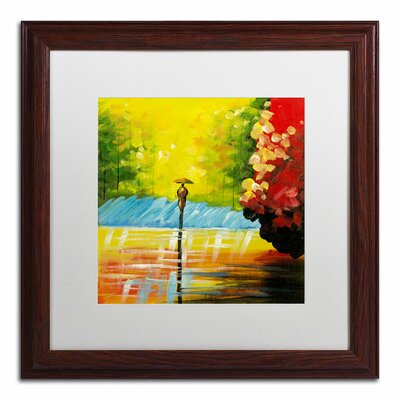 'Rainy Day' by Ricardo Tapia Framed Painting Print MA0551-W1616MF