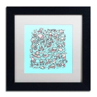 'Lovely Little Animals' by Carla Martell Framed Art ALI0525-B1111MF