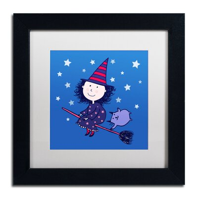 'Lovely Little Witch' by Carla Martell Framed Art ALI0526-B1111MF