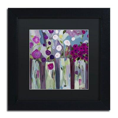 """Que Sera Sera"""" by Carrie Schmitt Framed Painting Print Size: 11"""" H x 11"""" W x 0.5"""" D ALI0789-B1111BMF"""