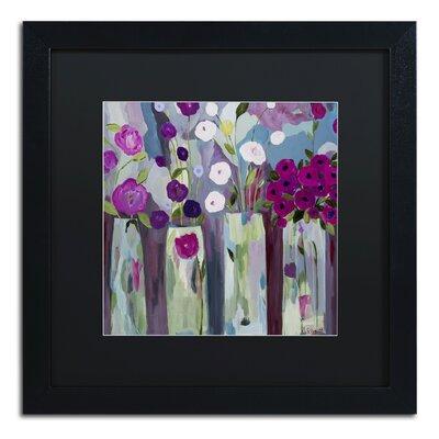 """Que Sera Sera"""" by Carrie Schmitt Framed Painting Print Size: 16"""" H x 16"""" W x 0.5"""" D ALI0789-B1616BMF"""