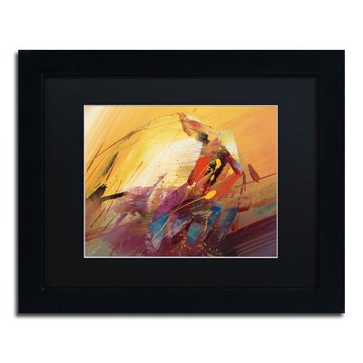 "A New Day"" by Ricardo Tapia Framed Painting Print MA0145-B1114BMF"
