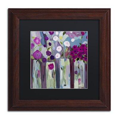 """Que Sera Sera"""" by Carrie Schmitt Framed Painting Print Size: 11"""" H x 11"""" W x 0.5"""" D ALI0789-W1111BMF"""