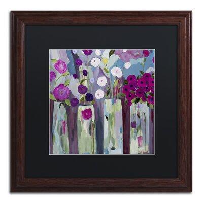 """Que Sera Sera"""" by Carrie Schmitt Framed Painting Print Size: 16"""" H x 16"""" W x 0.5"""" D ALI0789-W1616BMF"""