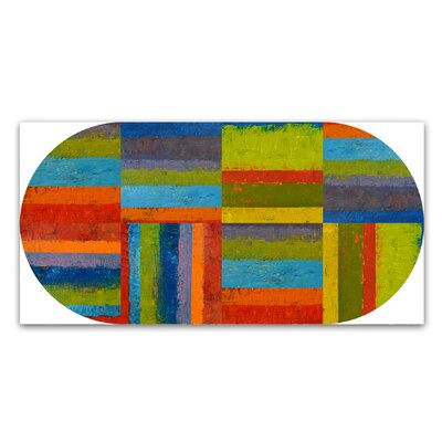 'Big Pill' by Michelle Calkins Painting Print on Wrapped Canvas Size: 32