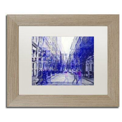 "Urban Vibrations Soho"" by Philippe Hugonnard Framed Photographic Print PH0279-T1114MF"