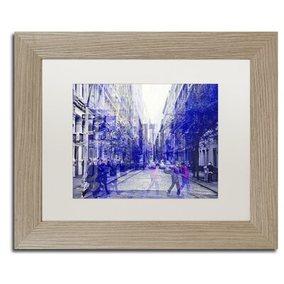 "Urban Vibrations Soho"" by Philippe Hugonnard Framed Photographic Print PH0279-T1620MF"