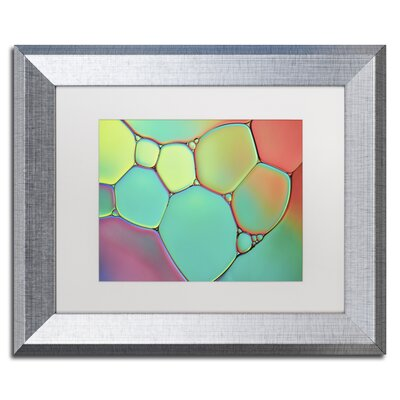 Stained Glass III by Cora Niele Framed Photographic Print ALI1732-B1114MF