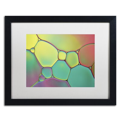 """Stained Glass I"""" by Cora Niele Framed Photographic Print ALI1730-B1620MF"""