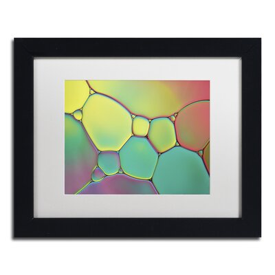 """Stained Glass I"""" by Cora Niele Framed Photographic Print ALI1730-B1114MF"""