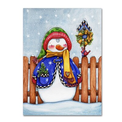 'Winter Friends' by Jennifer Nilsson Graphic Art on Wrapped Canvas ALI3074-C1419GG