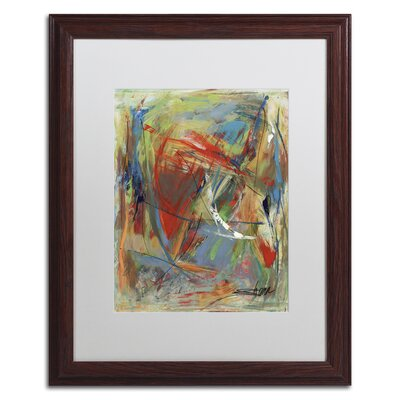 "Toy of a Cosmic Child"" by Shana Doumingez Framed Painting Print Size: 20"" H x 16"" W x 0.5"" D MA0806-W1620MF"