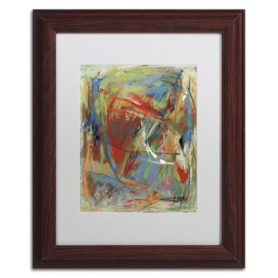 "Toy of a Cosmic Child"" by Shana Doumingez Framed Painting Print Size: 14"" H x 11"" W x 0.5"" D MA0806-W1114MF"