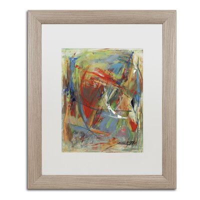 "Toy of a Cosmic Child"" by Shana Doumingez Framed Painting Print Size: 20"" H x 16"" W x 0.5"" D MA0806-T1620MF"