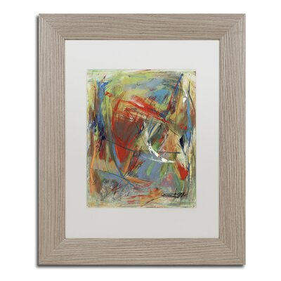 "Toy of a Cosmic Child"" by Shana Doumingez Framed Painting Print Size: 14"" H x 11"" W x 0.5"" D MA0806-T1114MF"