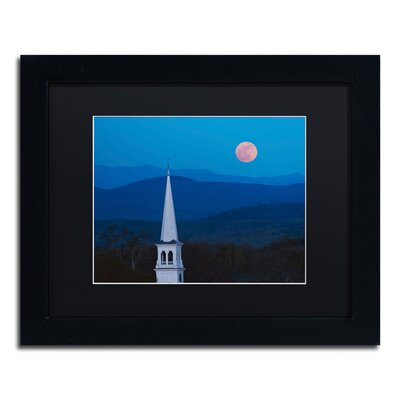 'Moon over Vermont' by Michael Blanchette Framed Photographic Print ALI3881-B1114BMF