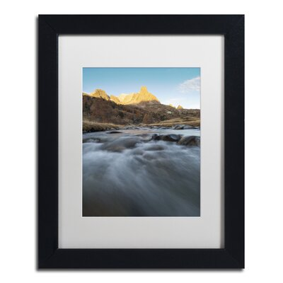 "First Rays"" by Mathieu Rivrin Framed Photographic Print RV0085-B1114MF"