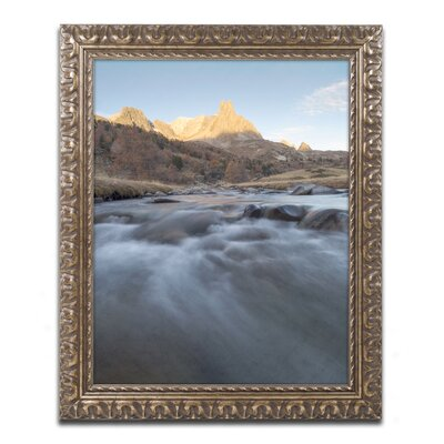 "First Rays"" by Mathieu Rivrin Framed Photographic Print RV0085-G1114F"
