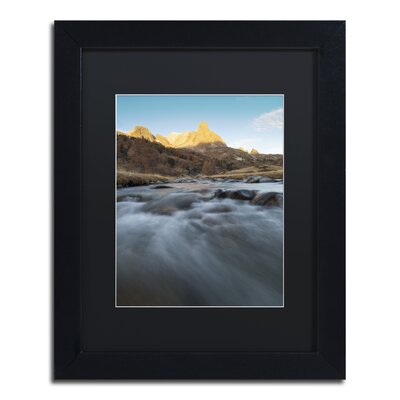 "First Rays"" by Mathieu Rivrin Framed Photographic Print RV0085-B1114BMF"