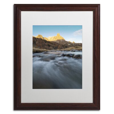 "First Rays"" by Mathieu Rivrin Framed Photographic Print RV0085-W1620MF"