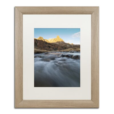 "First Rays"" by Mathieu Rivrin Framed Photographic Print RV0085-T1620MF"