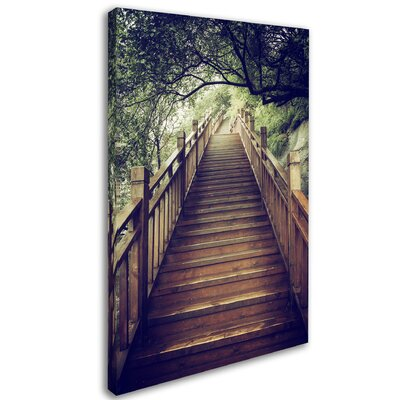"""Staircase"""" by Philippe Hugonnard Photographic Print on Wrapped Canvas PH0360-C1624GG"""