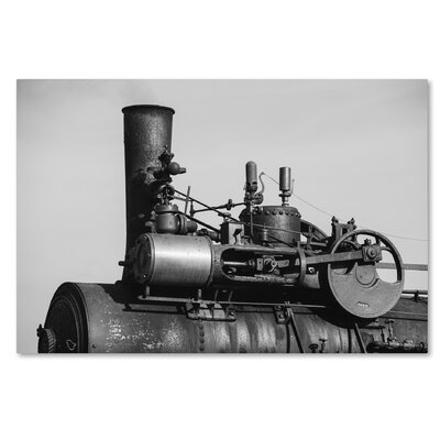 "'Steam Engine' by Jason Shaffer Photographic Print on Wrapped Canvas Size: 12"" H x 19"" W x 2"" D JS0120-C1219GG"