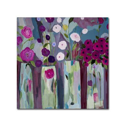 """'Que Sera Sera' Painting Print on Wrapped Canvas Size: 14"""" H x 14"""" W x 2"""" D ALI5315-C1414GG"""
