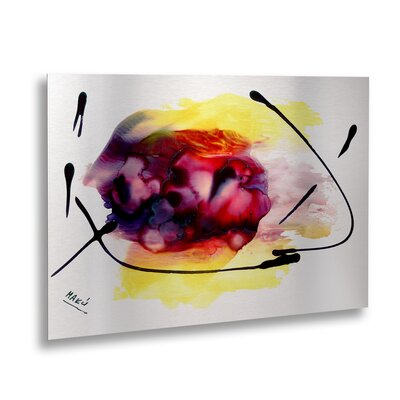 'Abstract 06' Painting Print MA0843-1622M