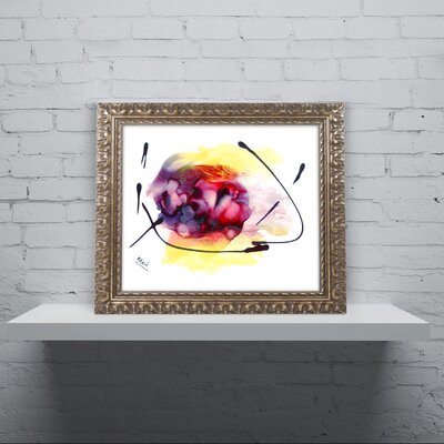 'Abstract 06' Framed Painting Print MA0843-G1114F
