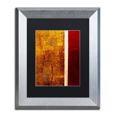 'Gold Flakes' Framed Painting Print CDO0183-S1114BMF