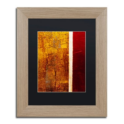 'Gold Flakes' Framed Painting Print CDO0183-T1114BMF