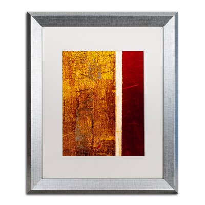'Gold Flakes' Framed Painting Print CDO0183-S1620MF