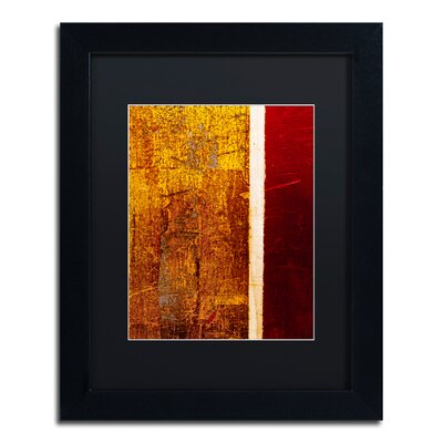 'Gold Flakes' Framed Painting Print CDO0183-B1114BMF