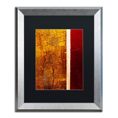 'Gold Flakes' Framed Painting Print CDO0183-S1620BMF