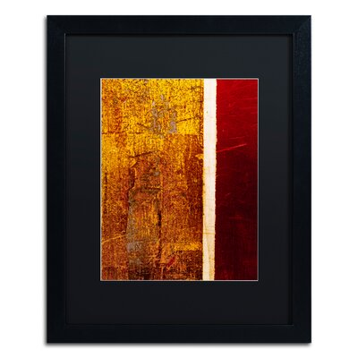'Gold Flakes' Framed Painting Print CDO0183-B1620BMF